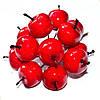 Яблочки красные на проволочке 5 шт.