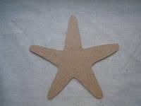 Фигура - Морская звезда (МДФ)