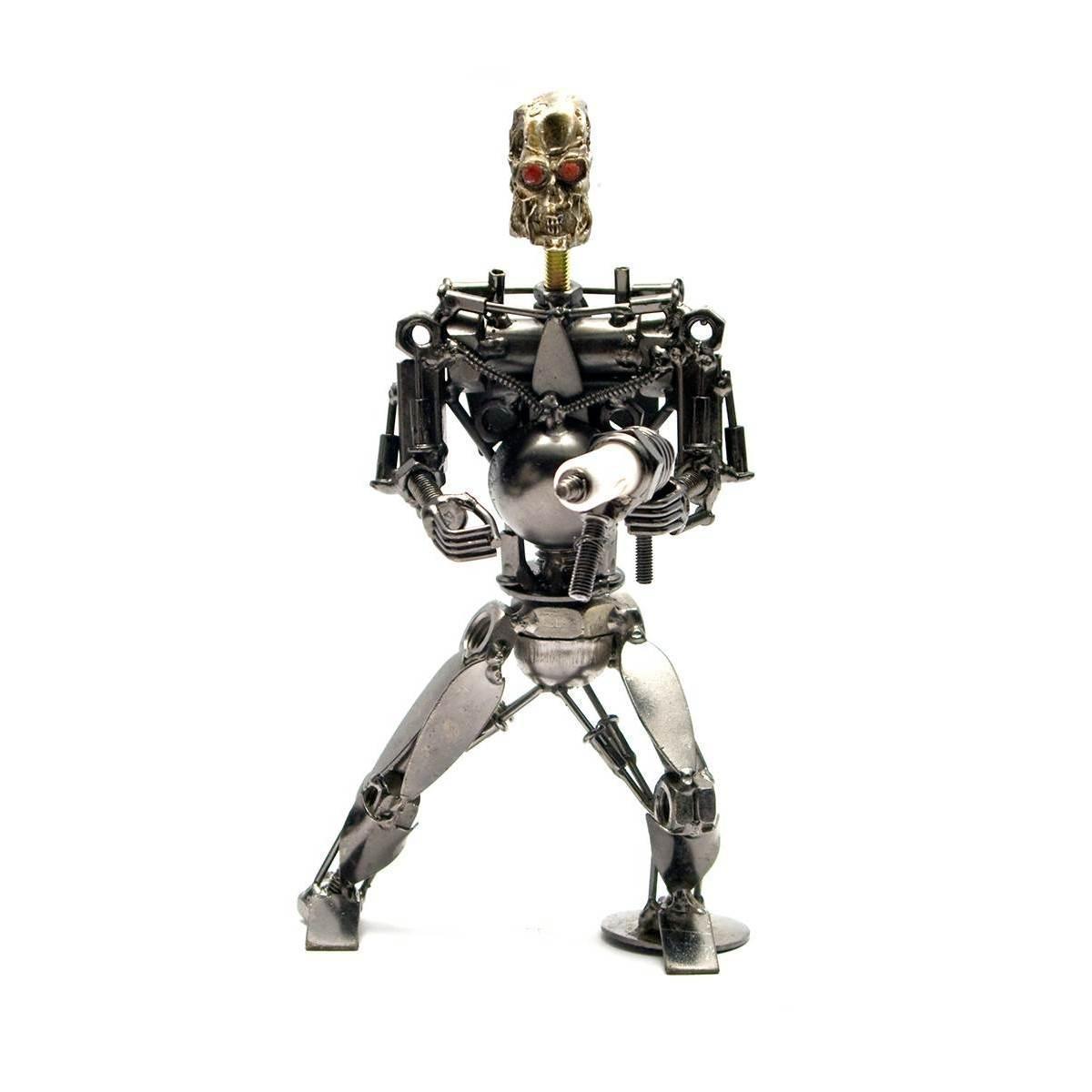 """Техно-арт """"Терминатор"""" металл 19х11х7 см 26495"""