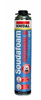 Монтажная пена SOUDAL Soudafoam Gun Professional 60 л, 750мл