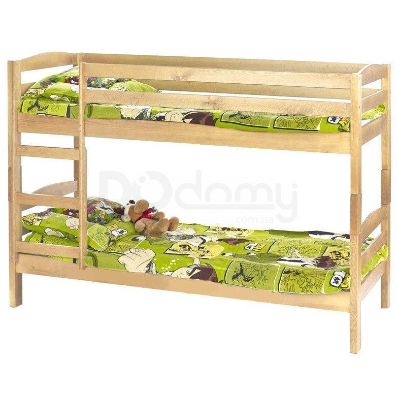 Кровать двухъярусная с двумя матрасами Sam Halmar Сосна