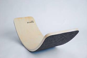 Рокерборд SwaeyBoard тренажер балансборд дитячий до 150 см. 93x28x21 см. детский баланс борд