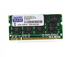 Оперативная память для ноутбука, ОЗУ, RAM, SODIMM, DDR1, 1 Гб,400 МГц