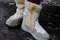 Женские дутики Аляска бежывые ( Код : А-1)