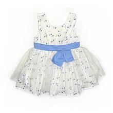 Плаття нарядне дитяче  для дівчинки з фатіном