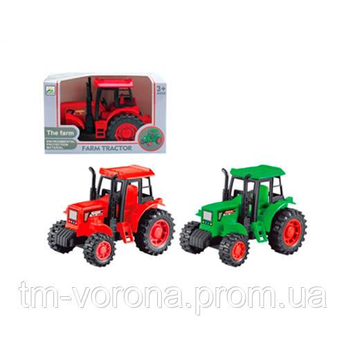 Трактор инерция