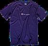 Мужская футболка Champion (ориг.бирка и качество) синяя, фото 4
