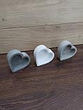 Гіпсове кашпо у формі серця, фото 5