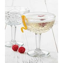 Келих-блюдце (Шале) для шампанського Coupe 250 мл Hobstar Libbey 929799, фото 2