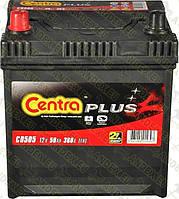 Аккумулятор Centra Plus 50AH/360A (CB505)