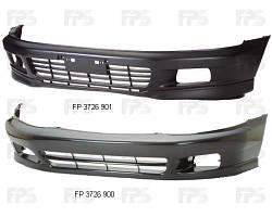 Бампер передний Mitsubishi Galant 97-04 черный (FPS). MR325299