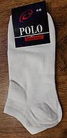 """Чоловічі стрейчеві шкарпетки""""POLO W"""" Туреччина 41-45 короткі Білі"""