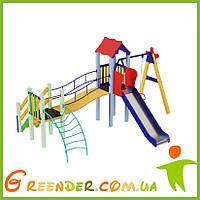 Детские площадки Верблюжонок, высота горки 1,5 м