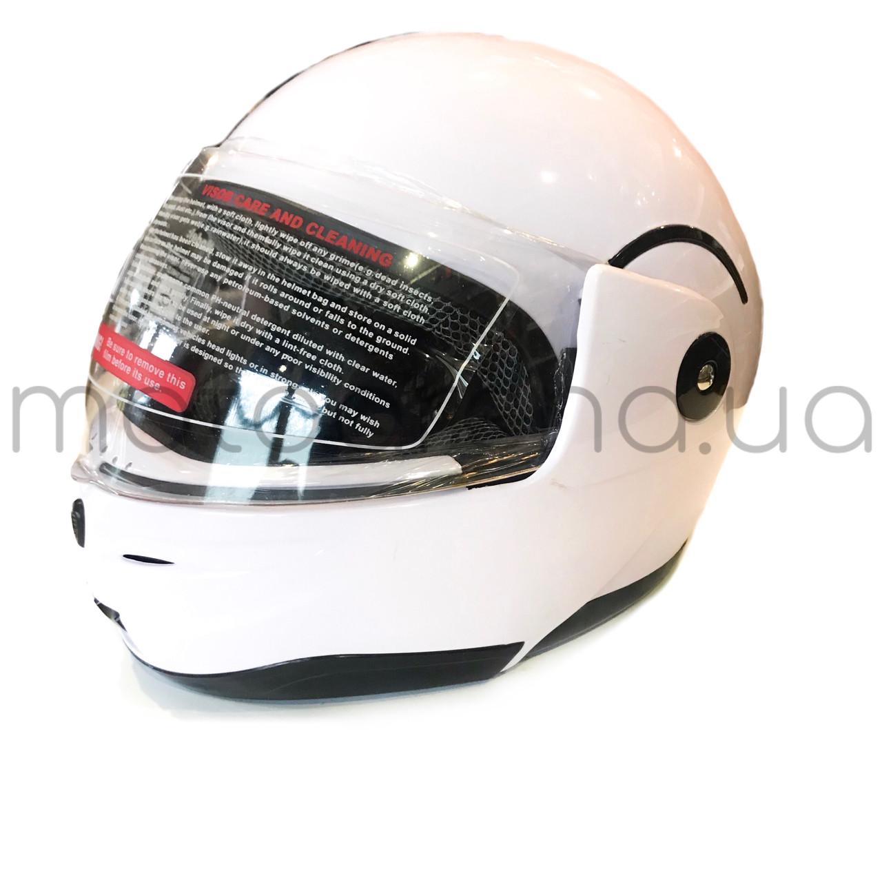 Шлем 155 Белый (откидная борода )