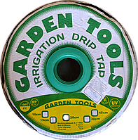 Щелевая лента для капельного полива Garden Tools шаг 10см бухта 1000м