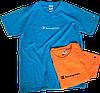 Мужские футболки Champion (ориг.бирка и качество) оранжевая и синяя, фото 2