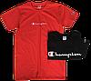 Мужские футболки Champion (ориг.бирка и качество) оранжевая и синяя, фото 3