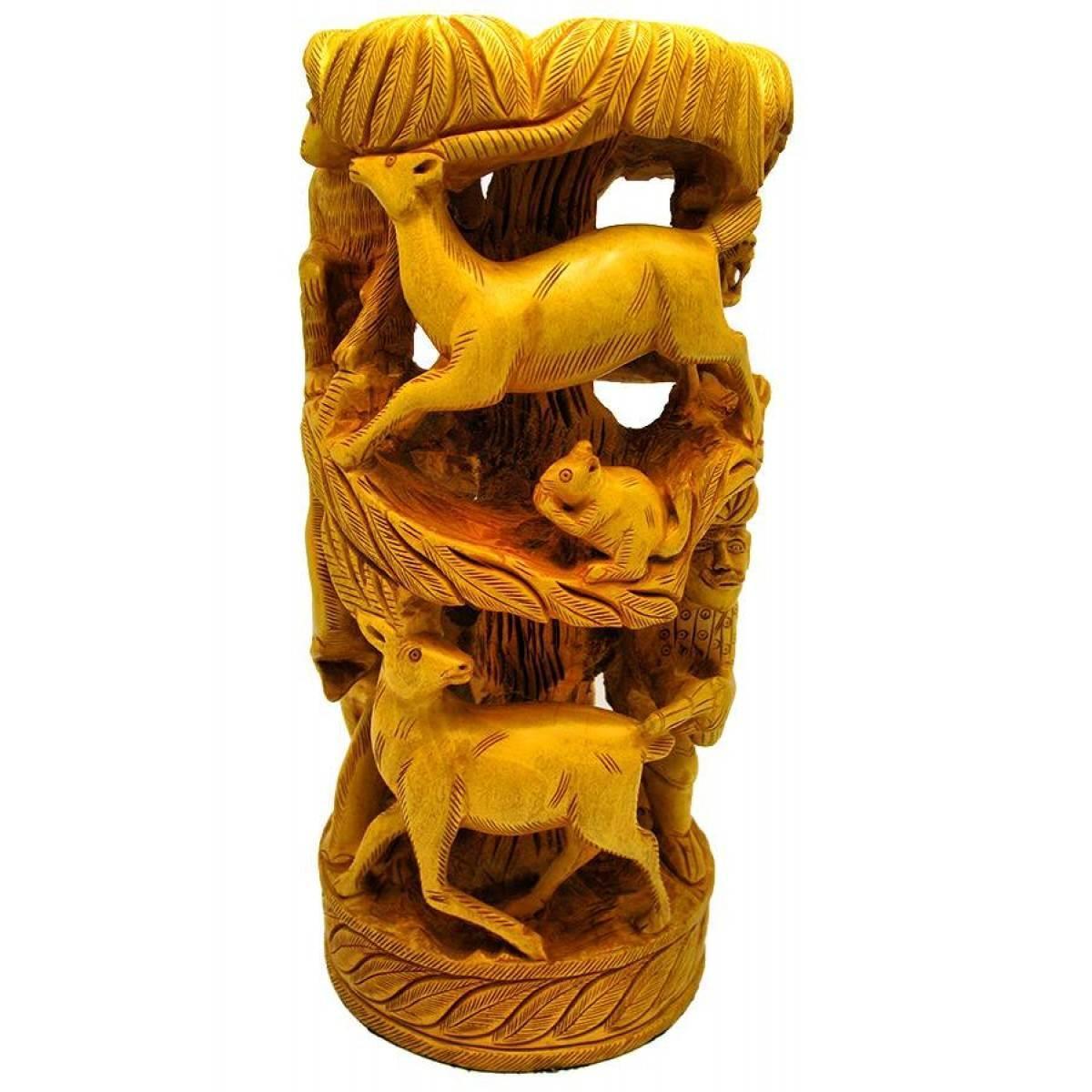 """Фигура деревянная """"Животные"""" 30х14 см 18084"""