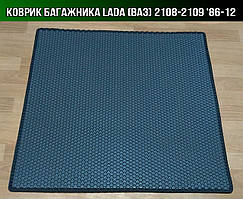 ЕВА коврик в багажник на Lada (Ваз) 2108-2109. Ковер багажника EVA ВАЗ 2107