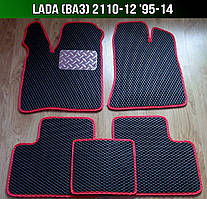 ЕВА коврики на Lada (Ваз) 2110-12 '95-14. Ковры EVA 2110 2111 2112
