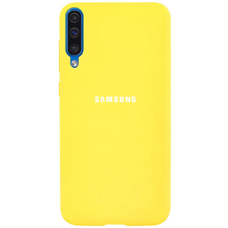 Чехол-накладка Soft-touch logo series для Samsung Galaxy A50 (A505F) / A50s / A30s