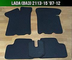 ЕВА коврики на Lada (Ваз) 2113-15 '97-12. Ковры EVA 2112