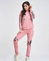 Спортивные костюмы  11270  M розовый