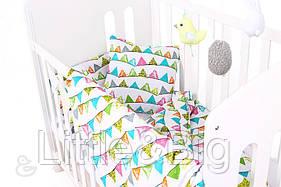 Комплект детского постельного белья  (Пододеяльник 140*100, наволочка 40*60 + ПРОСТЫНЬ на резинке)