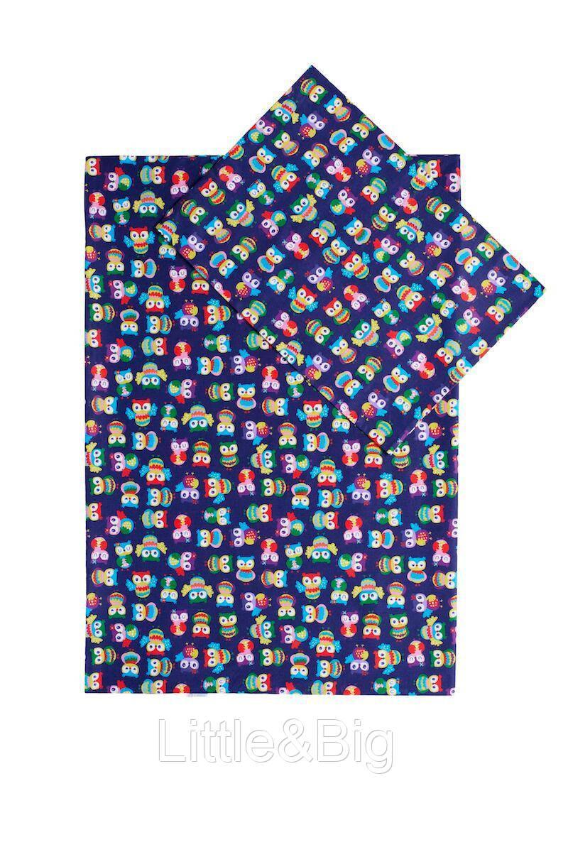 Комплект детского постельного  белья Лулу  (Пододеяльник 140*100 + наволочка 40*60)