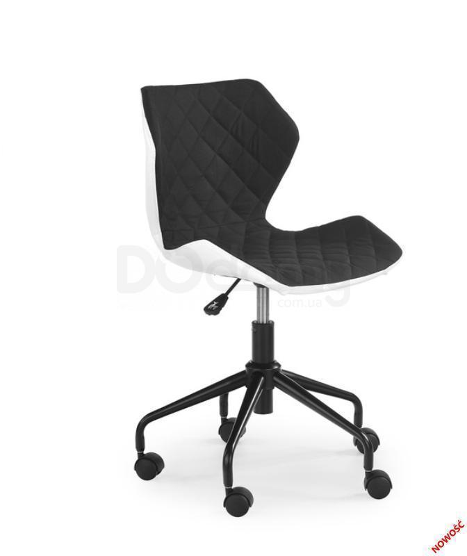 Кресло детское Matrix Halmar Черный