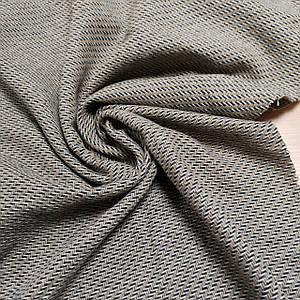 Ткань твид для пальто и кардиганов зиг-заг