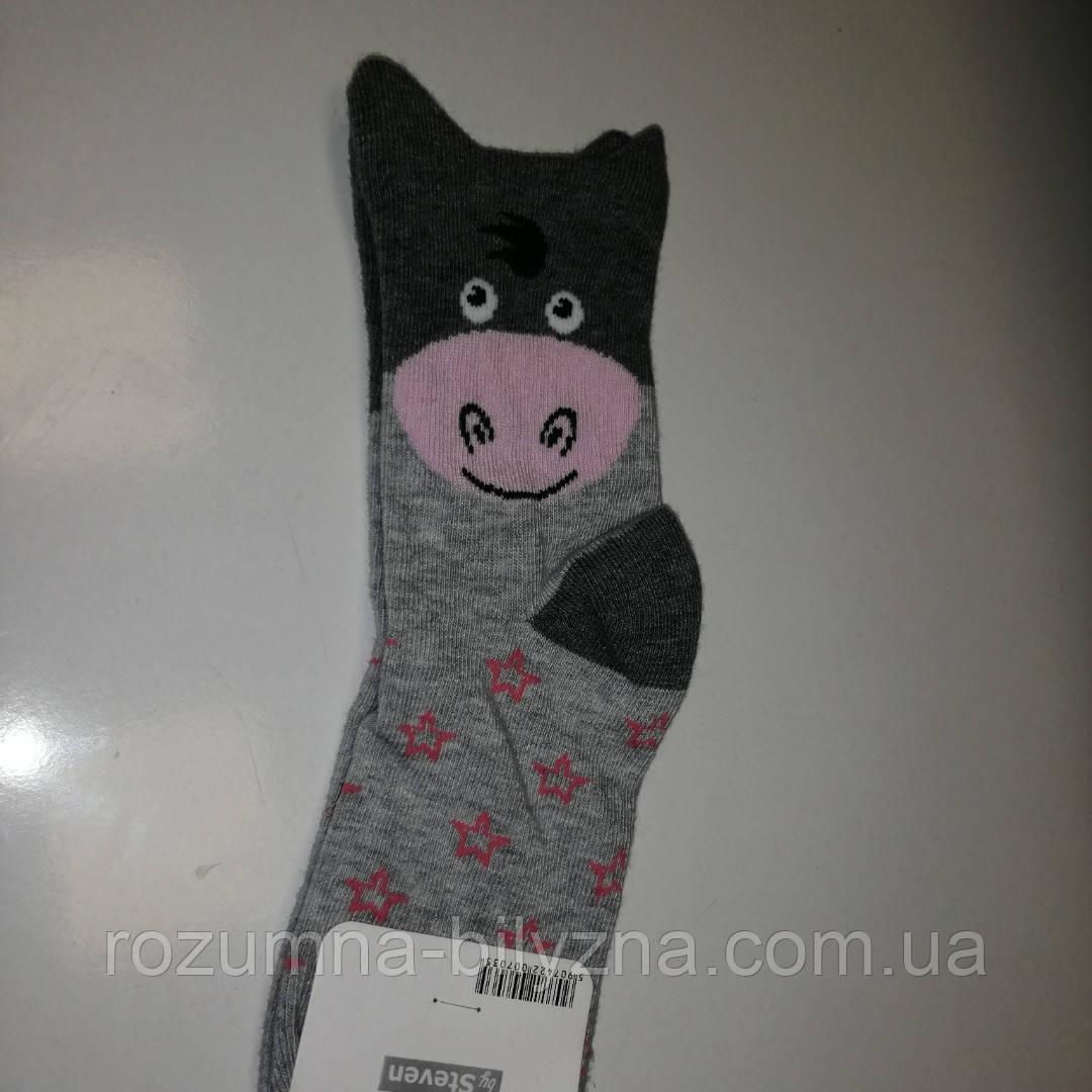 Шкарпетки дитячі, віслюка, ТМ Steven , Польща 32-34