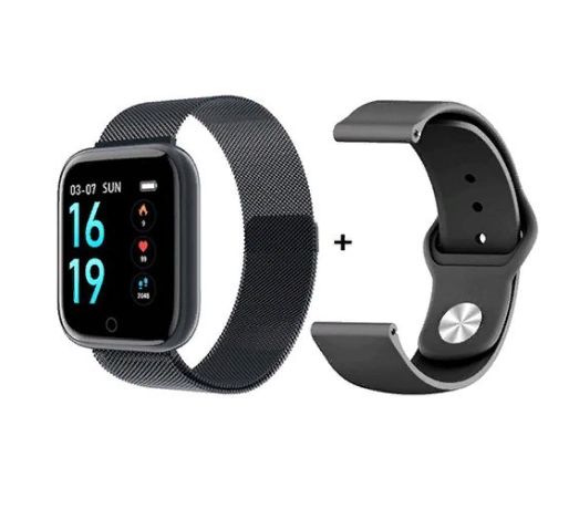 Фитнес браслет Smartix T80 tonometrсмарт часы с тонометром black