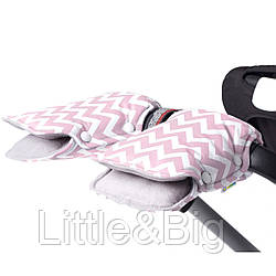 Муфта на коляску для рук Pink LC
