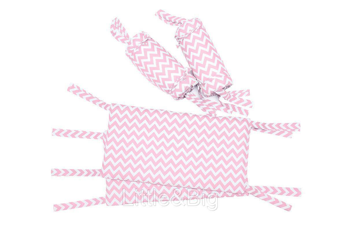 Защитные бортики в кроватку  Pink Full