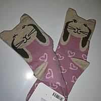 Шкарпетки дитячі, рожевий зайчик, ТМ Steven, Польща, фото 1