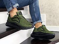Мужские кроссовки Nike Air Max 720 темно зеленые