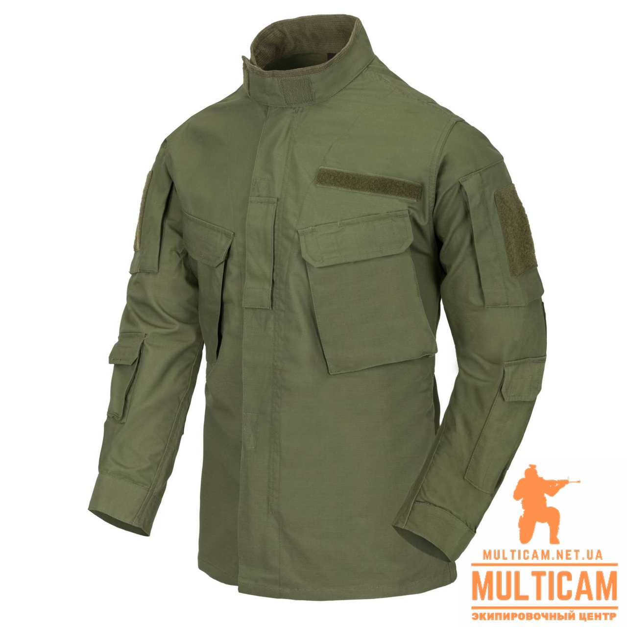 Китель Helikon-Tex® CPU® Shirt - PolyCotton Ripstop - Olive Green