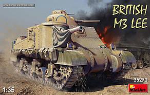 M3 LEE British tank. Сборная модель танка в масштабе 1/35. MINIART 35270
