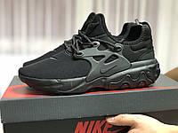 Мужские кроссовки Nike React Presto черные