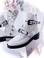 Крутые женские ботинки BALENCIAGA Creepers с ремешками (реплика), фото 1