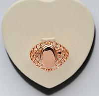 Кольцо ажурное Размер  17  медзолото, медицинское золото