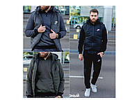 Костюм мужской теплый тройка Nike Мод-2020, фото 1