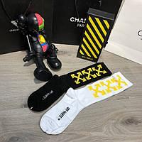 Набор Носков Off White Pack 2 Black-Yellow/White-Yellow