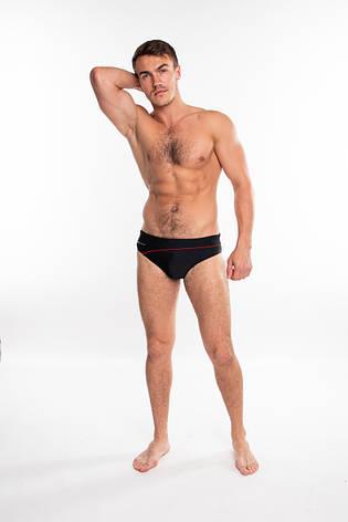 Мужские плавки слипы Sesto Senso 413 (Польша), купальные плавки для пляжа, для бассейна, фото 2