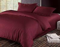 Комплект постельного белья двуспальный страйп-сатин 100% хлопок