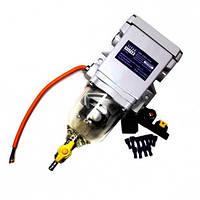 Фильтр топливный сепаратор (10 л/мин.) с подогревом 12В/250Вт.