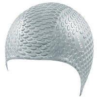Шапочка для плавания BECO 7396 11 силиконовая серебристая