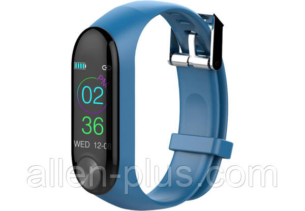 Смарт-браслет Bluetooth Smart Bracelet HAVIT HV-H1100, blue