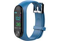 Смарт-браслет Bluetooth Smart Bracelet HAVIT HV-H1100, blue, фото 1